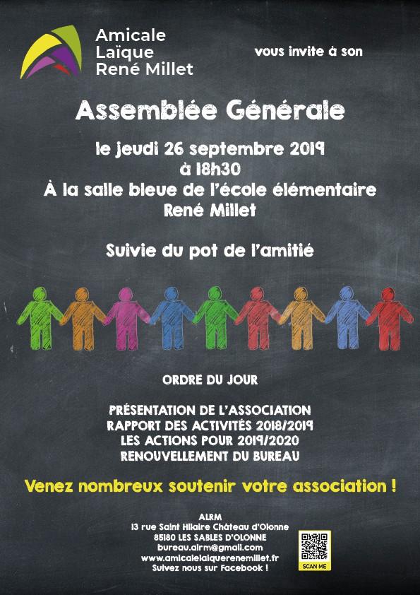 affiche de l'assemblée générale